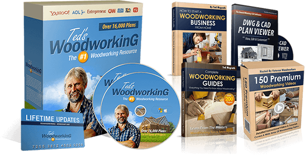 Ted's woodworking eBook